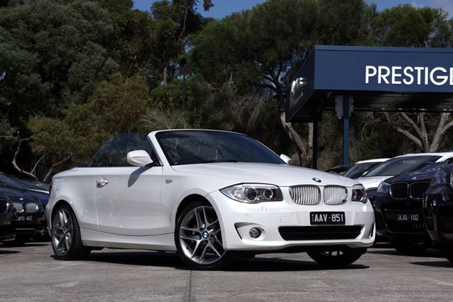 Used BMW 118d Steptronic, Balwyn, 2013 BMW 118d Steptronic Convertible