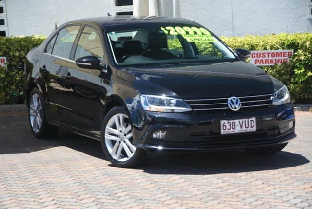 Discounted Used Volkswagen Jetta 103TDI DSG Highline, Southport, 2015 Volkswagen Jetta 103TDI DSG Highline Sedan