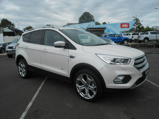Discounted Demonstrator, Demo, Near New Ford Escape Titanium AWD, Nowra, 2017 Ford Escape Titanium AWD Wagon