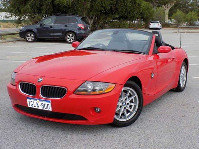 Used BMW Z4 Steptronic, Maddington, 2003 BMW Z4 Steptronic Roadster