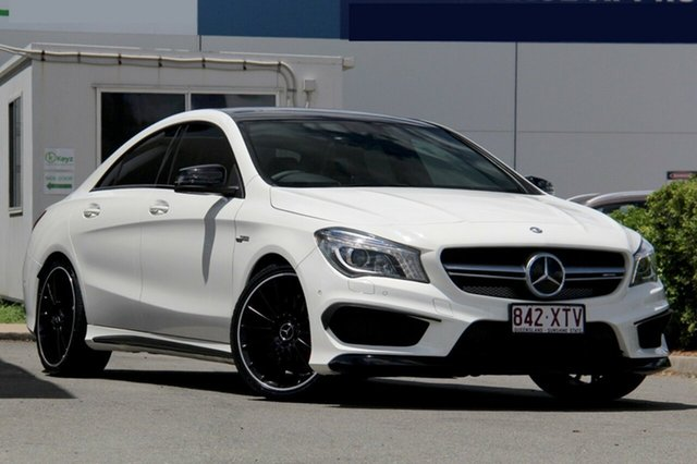 Used Mercedes-Benz CLA45 AMG SPEEDSHIFT DCT 4MATIC, Toowong, 2015 Mercedes-Benz CLA45 AMG SPEEDSHIFT DCT 4MATIC Coupe