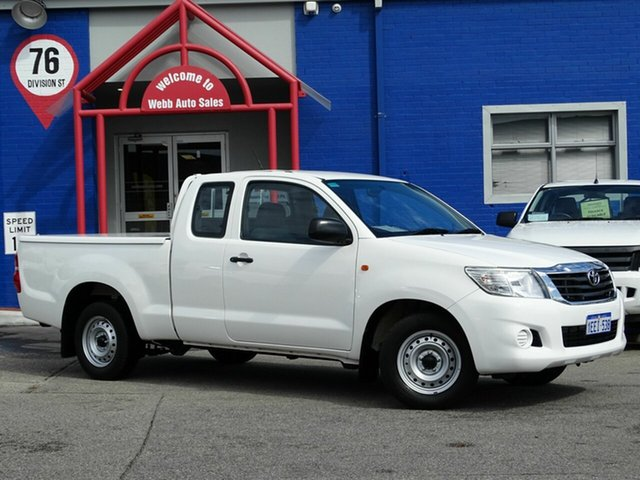 Discounted Used Toyota Hilux SR Xtra Cab, Welshpool, 2013 Toyota Hilux SR Xtra Cab Utility