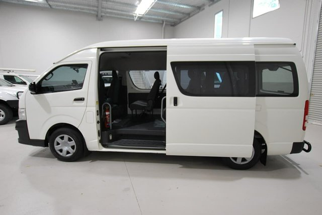 Used Toyota Hiace Commuter High Roof Super LWB, Kenwick, 2011 Toyota Hiace Commuter High Roof Super LWB Bus