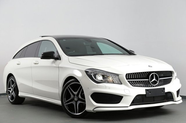 Used Mercedes-Benz CLA200 Shooting Brake DCT, Narellan, 2016 Mercedes-Benz CLA200 Shooting Brake DCT Wagon
