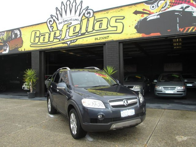 Used Holden Captiva LX, O'Connor, 2009 Holden Captiva LX Wagon