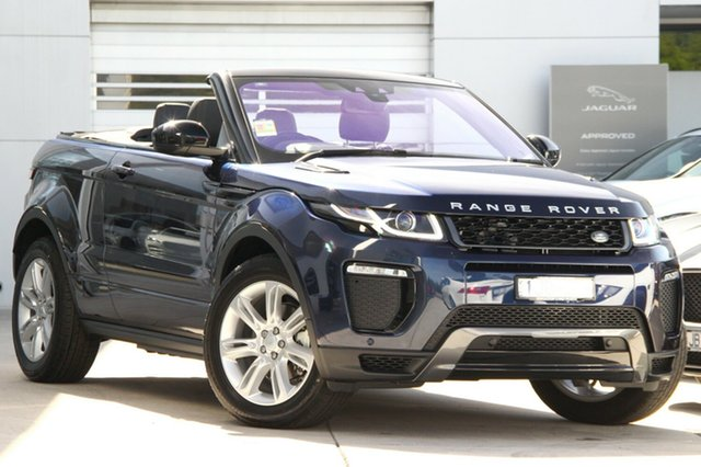 Demonstrator, Demo, Near New Land Rover Evoque TD4 180 HSE Dynamic, Gardenvale, 2017 Land Rover Evoque TD4 180 HSE Dynamic Convertible