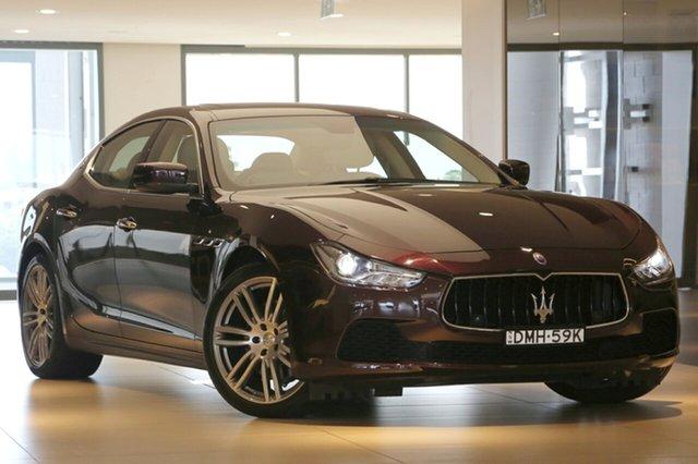 Used Maserati Ghibli, Artarmon, 2016 Maserati Ghibli Sedan