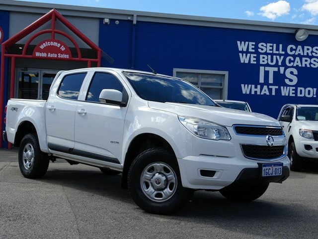 Discounted Used Holden Colorado LX Crew Cab, Welshpool, 2012 Holden Colorado LX Crew Cab Utility