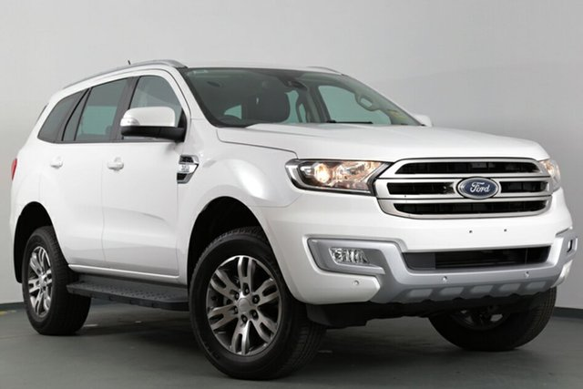 Demonstrator, Demo, Near New Ford Everest Trend 4WD, Narellan, 2017 Ford Everest Trend 4WD SUV