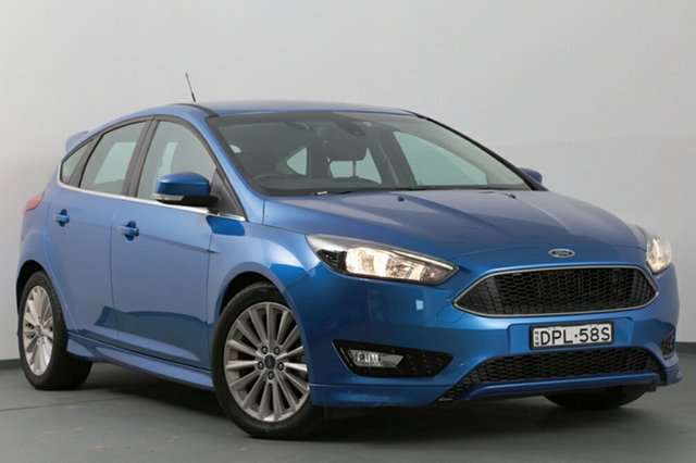 Used Ford Focus Sport, Narellan, 2017 Ford Focus Sport Hatchback