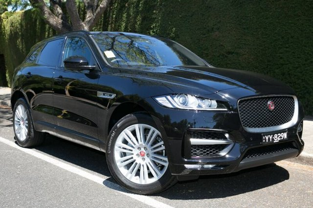 Demonstrator, Demo, Near New Jaguar F-PACE 25d AWD R-Sport, Hawthorn, 2017 Jaguar F-PACE 25d AWD R-Sport Wagon