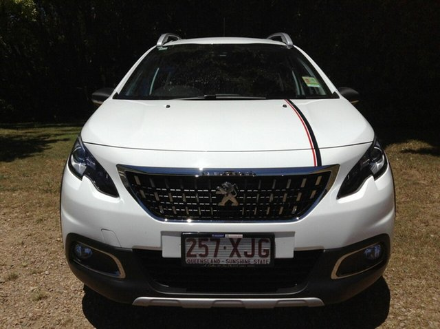 Demonstrator, Demo, Near New Peugeot 2008 Allure, Nambour, 2017 Peugeot 2008 Allure A94 MY18 Wagon