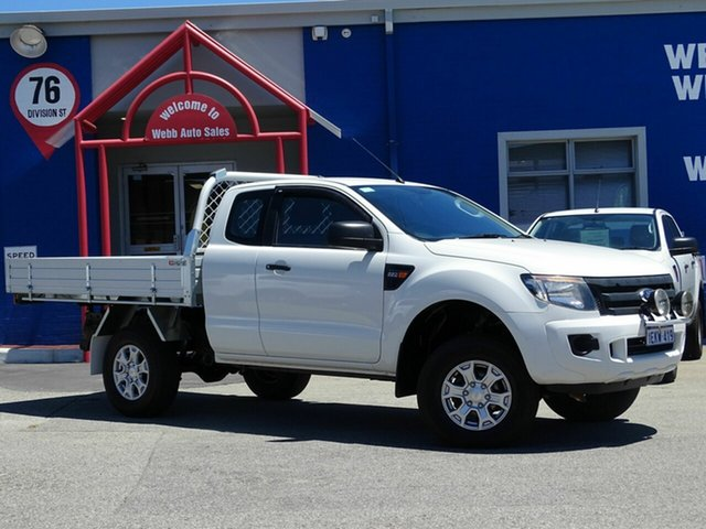 Discounted Used Ford Ranger XL Double Cab 4x2 Hi-Rider, Welshpool, 2014 Ford Ranger XL Double Cab 4x2 Hi-Rider Cab Chassis