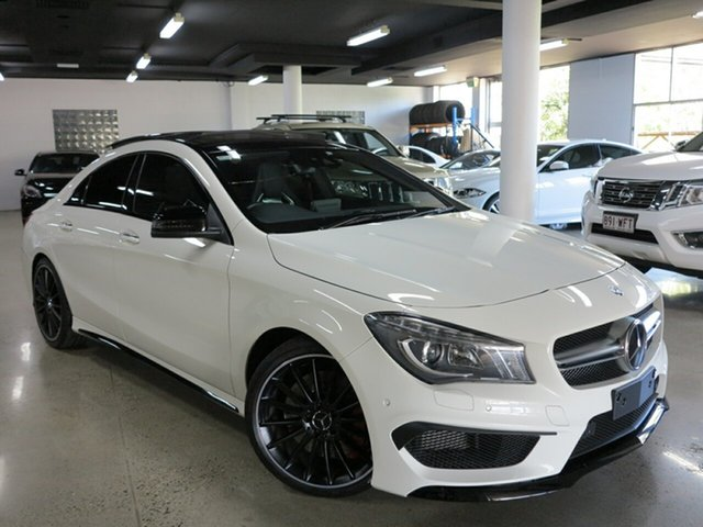 Used Mercedes-Benz CLA45 AMG SPEEDSHIFT DCT 4MATIC, Albion, 2015 Mercedes-Benz CLA45 AMG SPEEDSHIFT DCT 4MATIC Coupe