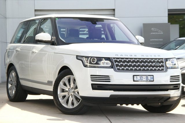 Discounted Demonstrator, Demo, Near New Land Rover Range Rover TDV6 Vogue, Gardenvale, 2017 Land Rover Range Rover TDV6 Vogue Wagon