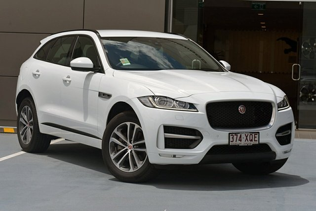 Demonstrator, Demo, Near New Jaguar F-PACE, Southport, 2017 Jaguar F-PACE Wagon
