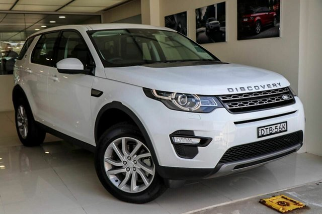 Demonstrator, Demo, Near New Land Rover Discovery Sport TD4 132kW SE, Brookvale, 2017 Land Rover Discovery Sport TD4 132kW SE Wagon