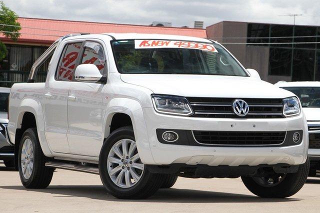 Used Volkswagen Amarok TDI420 4Motion Perm Highline, Moorooka, Brisbane, 2016 Volkswagen Amarok TDI420 4Motion Perm Highline Utility