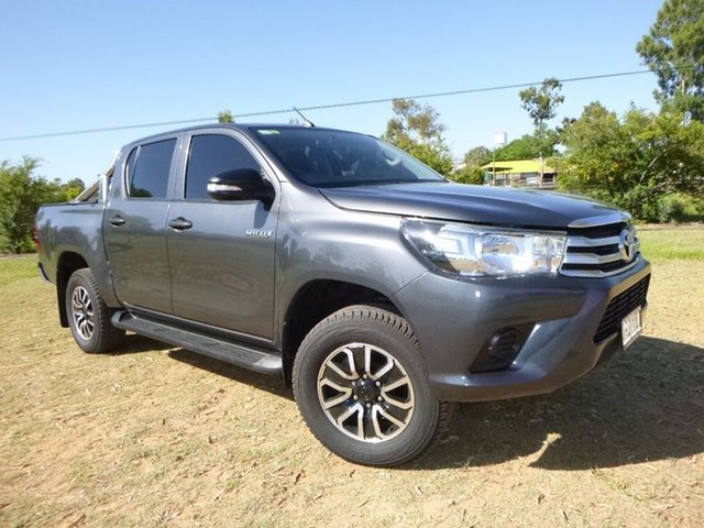 Used Toyota Hilux Workmate Double Cab, 2016 Toyota Hilux Workmate Double Cab Utility