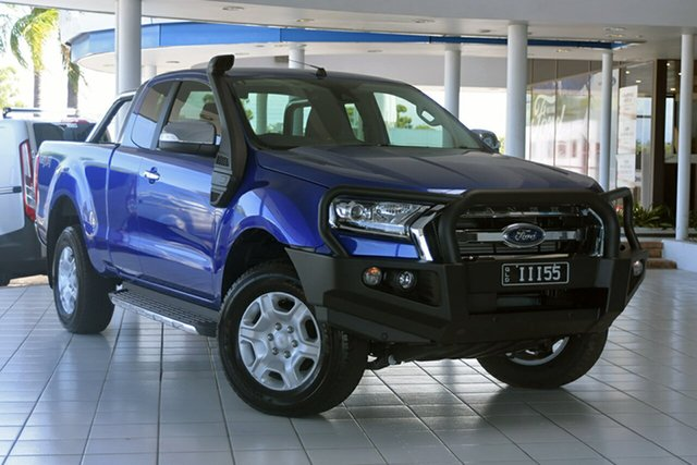 Discounted Demonstrator, Demo, Near New Ford Ranger XLT Super Cab, Southport, 2017 Ford Ranger XLT Super Cab Utility
