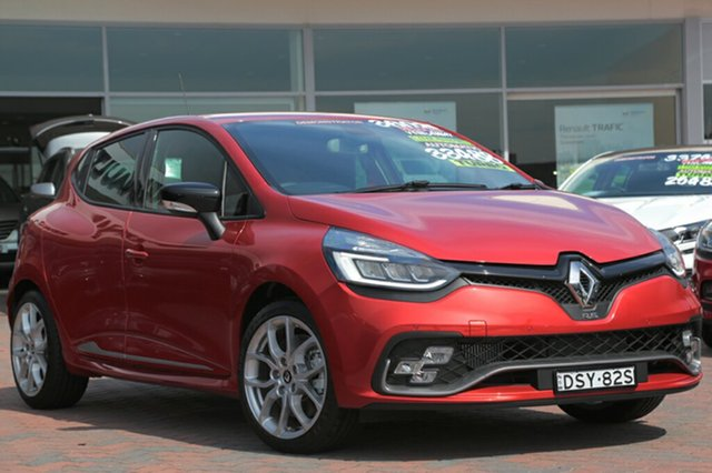 Discounted Demonstrator, Demo, Near New Renault Clio R.S. 200 EDC Sport, Warwick Farm, 2017 Renault Clio R.S. 200 EDC Sport Hatchback