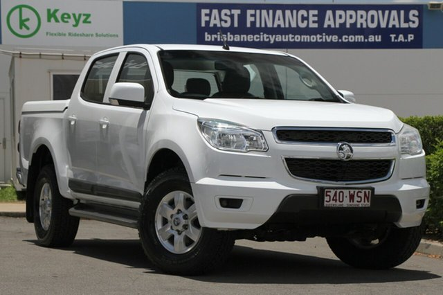 Used Holden Colorado LT Crew Cab, Bowen Hills, 2012 Holden Colorado LT Crew Cab Utility