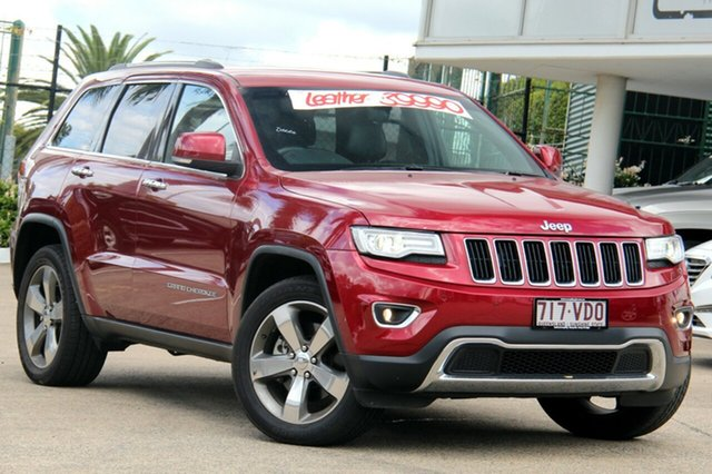 Used Jeep Grand Cherokee Limited, Moorooka, Brisbane, 2014 Jeep Grand Cherokee Limited Wagon