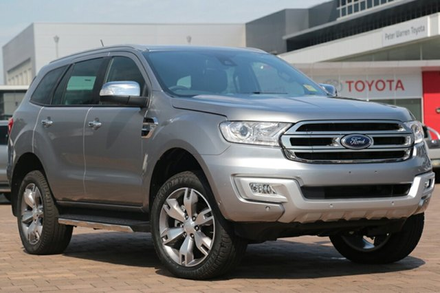 Discounted Demonstrator, Demo, Near New Ford Everest Titanium, Warwick Farm, 2017 Ford Everest Titanium SUV