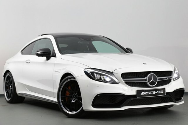 Used Mercedes-Benz C63 AMG SPEEDSHIFT MCT S, Narellan, 2016 Mercedes-Benz C63 AMG SPEEDSHIFT MCT S Coupe