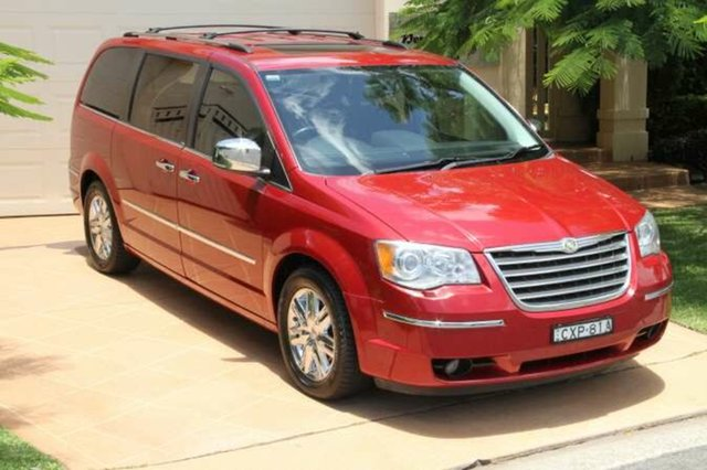 Discounted Used Chrysler Grand Voyager Limited, Bundall, 2008 Chrysler Grand Voyager Limited RT 5th Gen MY08 Wagon