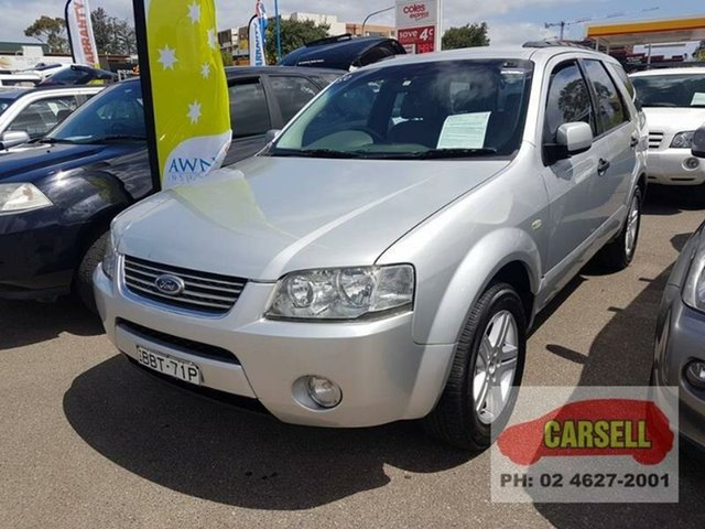 Used Ford Territory Ghia 7seater, Campbelltown, 2004 Ford Territory Ghia 7seater Wagon