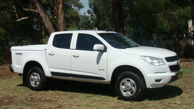 Used Holden Colorado LX Crew Cab, Queanbeyan, 2013 Holden Colorado LX Crew Cab Utility