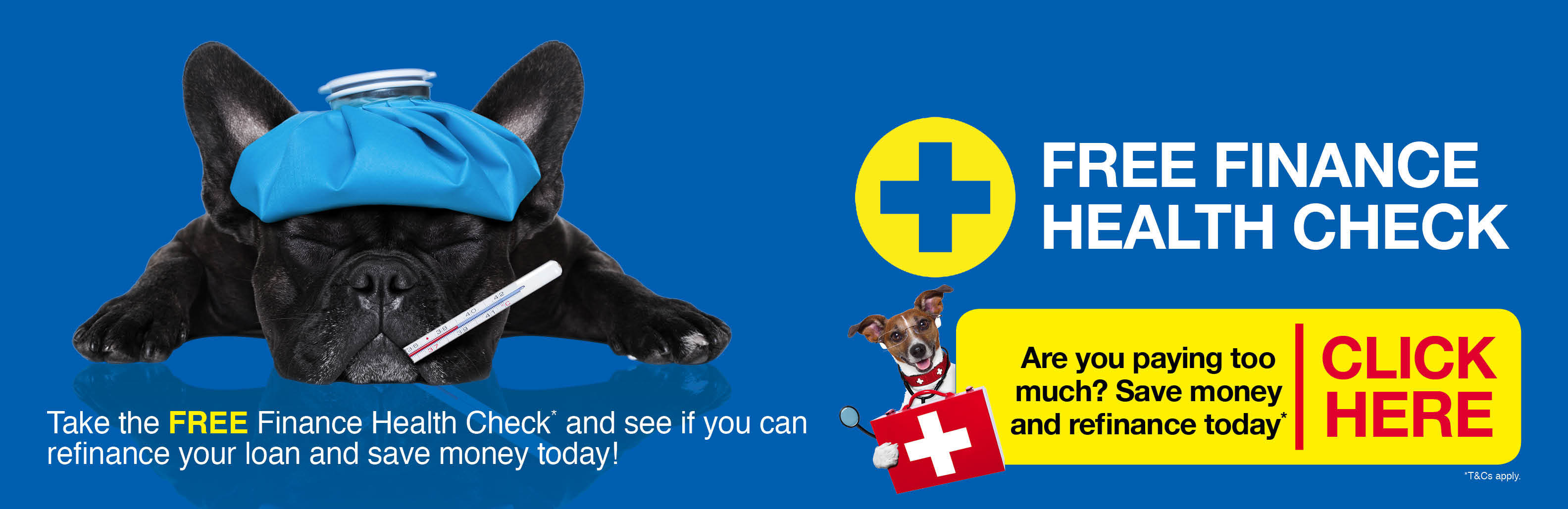 Click here to take the FREE Finance Health Check