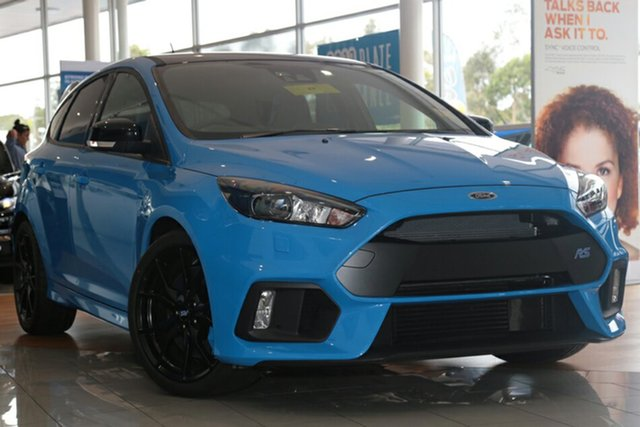 Discounted New Ford Focus RS AWD Limited Edition, Narellan, 2017 Ford Focus RS AWD Limited Edition Hatchback