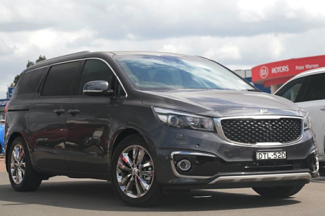 Demonstrator, Demo, Near New Kia Carnival Platinum, Southport, 2017 Kia Carnival Platinum Wagon