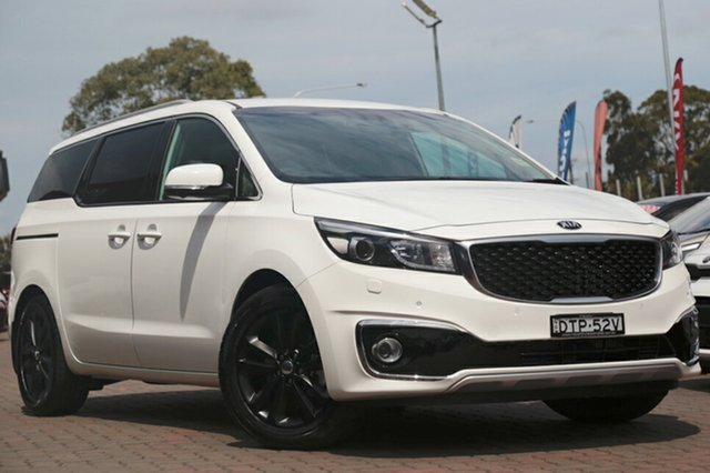 Discounted Demonstrator, Demo, Near New Kia Carnival Platinum, Southport, 2017 Kia Carnival Platinum Wagon