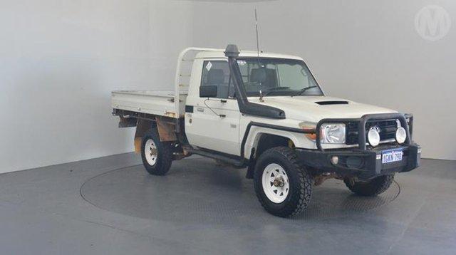 Used Toyota Landcruiser Workmate (4x4), Altona North, 2012 Toyota Landcruiser Workmate (4x4) Cab Chassis