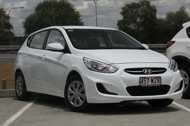 Used Hyundai Accent Active, Moorooka, Brisbane, 2016 Hyundai Accent Active Hatchback
