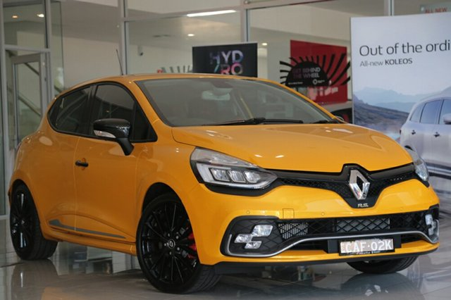 Discounted Demonstrator, Demo, Near New Renault Clio R.S. 200 EDC Cup, Narellan, 2017 Renault Clio R.S. 200 EDC Cup Hatchback