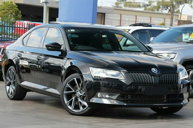 Demonstrator, Demo, Near New Skoda Superb 206TSI Sedan DSG SportLine, Bowen Hills, 2017 Skoda Superb 206TSI Sedan DSG SportLine Liftback