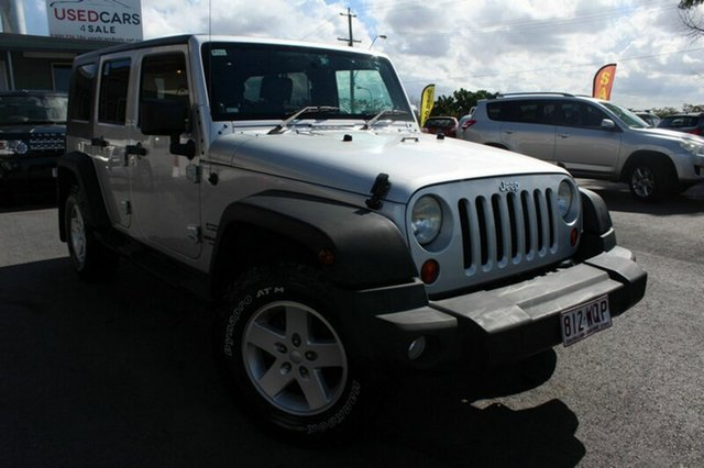 Used Jeep Wrangler Unlimited Sport, Tingalpa, 2009 Jeep Wrangler Unlimited Sport Softtop