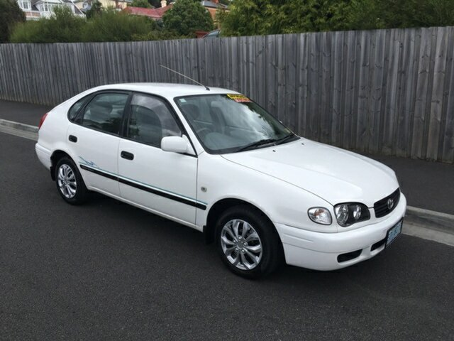 Used Toyota Corolla Ascent Seca, North Hobart, 2000 Toyota Corolla Ascent Seca Liftback