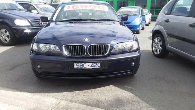 Used BMW 318I Executive Steptronic, Cheltenham, 2002 BMW 318I Executive Steptronic Sedan