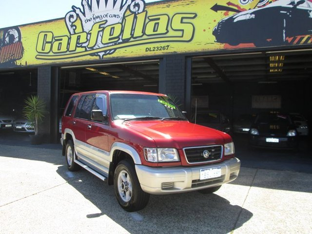 Used Holden Jackaroo SE, O'Connor, 1999 Holden Jackaroo SE Wagon