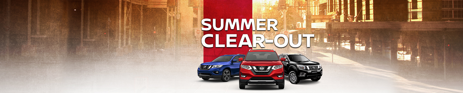 Nissan Summer Clear-Out