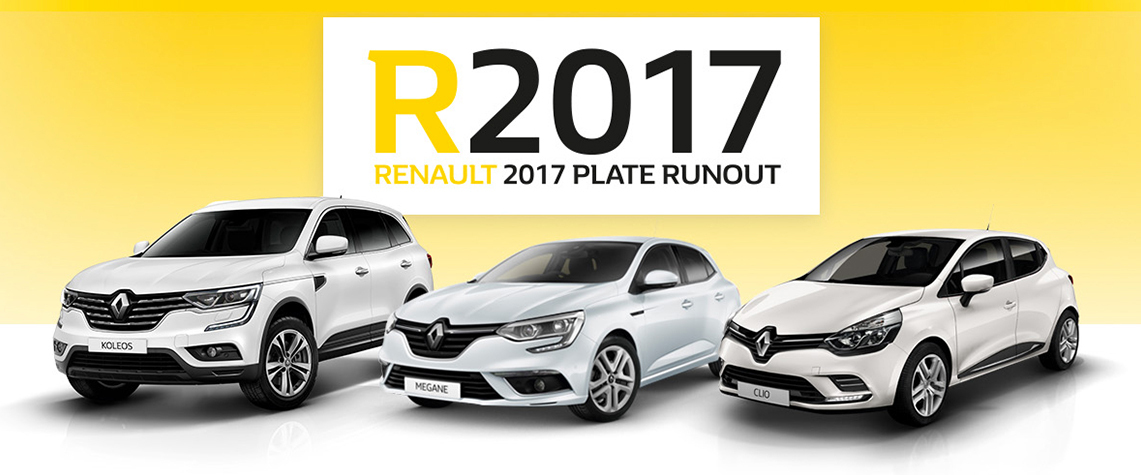 Renault 2017 Plate Runout