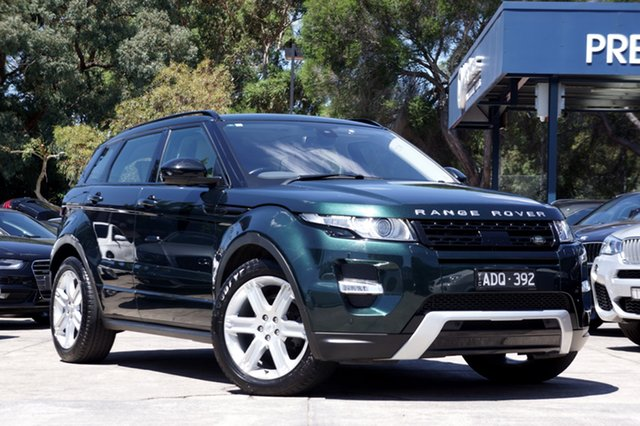 Used Land Rover Range Rover Evoque SD4 Dynamic, Balwyn, 2015 Land Rover Range Rover Evoque SD4 Dynamic Wagon