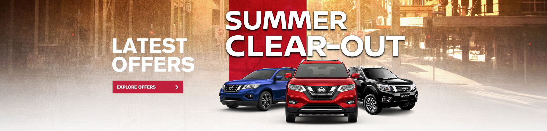 Nissan - National Offer- Summer Clear-Out