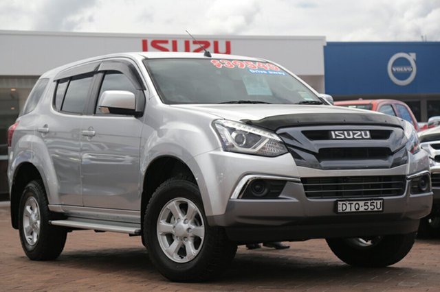 Discounted Demonstrator, Demo, Near New Isuzu MU-X LS-M Rev-Tronic 4x2, Southport, 2017 Isuzu MU-X LS-M Rev-Tronic 4x2 Wagon