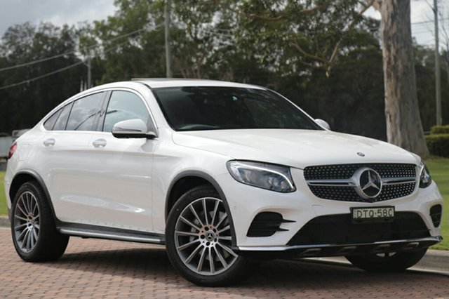 Discounted Used Mercedes-Benz GLC250 Coupe 9G-TRONIC 4MATIC, Warwick Farm, 2017 Mercedes-Benz GLC250 Coupe 9G-TRONIC 4MATIC SUV